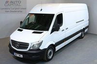 USED 2017 17 MERCEDES-BENZ SPRINTER 2.1 314CDI 5d 140 BHP HIGH ROOF LWB EURO 6 ULEZ COMPLIANT PARKTRONIC SYSTEM PARKTRONIC SYSTEM