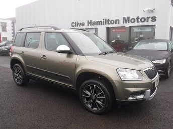 2017 SKODA YETI 2.0 OUTDOOR SE L TDI SCR 5d 109 BHP LEATHER (HEATED FRONT) £SOLD