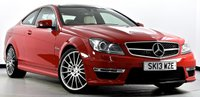 USED 2013 13 MERCEDES-BENZ C CLASS 6.3 C63 AMG MCT 7S 2dr Full Mercedes Service Record