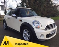 2011 MINI HATCH FIRST