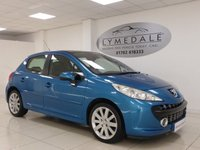 USED 2007 07 PEUGEOT 207 1.6 GT HDI 5d 108 BHP PAN ROOF, FULL HISTORY, MOT 13.2.19, HALF LEATHER