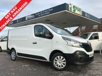 USED 2015 15 RENAULT TRAFIC 1.6 SL29 BUSINESS ENERGY DCI S/R P/V 1d 120 BHP SAT NAV, 3 Seater, New Shape, Sensible Mileage.