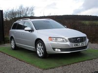 USED 2013 63 VOLVO V70 2.4 D5 SE LUX 5d AUTO 212 BHP