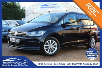 2015 VOLKSWAGEN TOURAN 1.6 SE TDI BLUEMOTION TECHNOLOGY 5d 109 BHP £15000.00