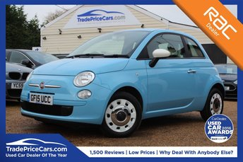 2015 FIAT 500 1.2 COLOUR THERAPY 3d 69 BHP £6850.00