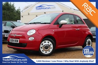2014 FIAT 500 1.2 COLOUR THERAPY 3d 69 BHP £6150.00