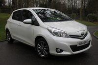 USED 2014 14 TOYOTA YARIS 1.3 VVT-I ICON PLUS 5d 99 BHP REVERSE ASSIST CAMERA
