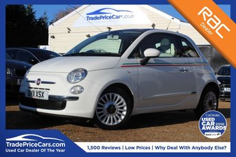 2011 FIAT 500 0.9 LOUNGE 3d 85 BHP £3950.00