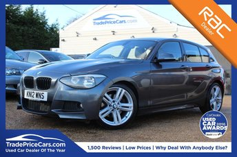 2012 BMW 1 SERIES 2.0 125D M SPORT 5d AUTO 215 BHP £11150.00