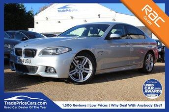 2015 BMW 5 SERIES 3.0 530D M SPORT 4d AUTO 255 BHP £17500.00