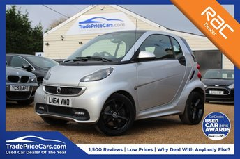2014 SMART FORTWO COUPE 1.0 GRANDSTYLE EDITION 2d AUTO 84 BHP £6500.00