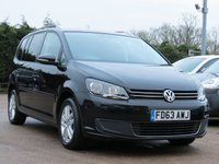 USED 2013 63 VOLKSWAGEN TOURAN 2.0 SE TDI BLUEMOTION TECHNOLOGY 5d 138 BHP *AA DEALER PROMISE READY TO DRIVE AWAY TODAY*