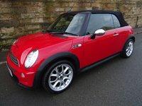 2007 MINI CONVERTIBLE 1.6 COOPER S 2d 168 BHP £4000.00