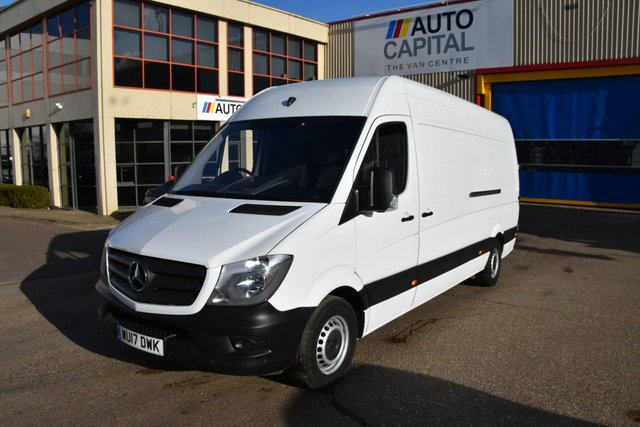 2017 17 MERCEDES-BENZ SPRINTER 2.1 314CDI 5d 140 BHP LR LWB EURO 6 ULEZ COMPLIANT ONE  OWNER FROM NEW
