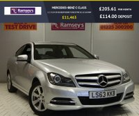 USED 2013 63 MERCEDES-BENZ C CLASS 2.1 C220 CDI BLUEEFFICIENCY EXECUTIVE SE 2d 168 BHP