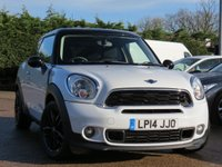 USED 2014 14 MINI PACEMAN 1.6 COOPER S 3d 184 BHP SERVICE PACK UNTIL 2019 OR 50K MILES