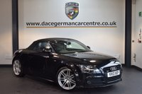 USED 2013 13 AUDI TT 2.0 TDI QUATTRO BLACK EDITION 2DR AUTO 168 BHP +  FULL BLACK LEATHER INTERIOR + EXCELLENT SERVICE HISTORY + SATELLITE NAVIGATION + HEATED SPORT SEATS + HEATED MIRRORS + AUXILIARY PORT + PARKING SENSORS + 19 INCH ALLOY WHEELS +