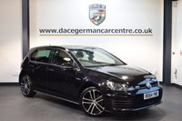 USED 2015 64 VOLKSWAGEN GOLF 2.0 GTD 5DR 181 BHP + FULL VW SERVICE HSTORY + 1 OWNER FROM NEW + SATELLITE NAVIGATION + BLUETOOTH + SPORT SEATS + DAB RADIO + CRUISE CONTROL + RAIN SENSORS + HEATED MIRRORS + PARKING SENSORS + 18 INCH ALLOY WHEELS +