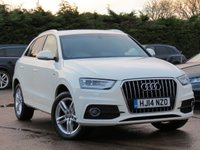 USED 2014 14 AUDI Q3 1.4 TFSI S LINE 5d 150 BHP *AA DEALER PROMISE READY TO DRIVE AWAY TODAY*