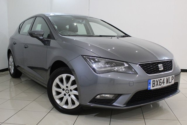 View our 2014 64 SEAT LEON 1.6 TDI SE TECHNOLOGY 5DR 105 BHP