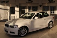 USED 2013 13 BMW 1 SERIES 2.0 120D M SPORT 2d 175 BHP FULL BMW SERVICE HISTORY + 17 INCH ALLOYS + REAR PARKING SENSORS + DAB RADIO + AIR CONDITIONING + HANDS FREE