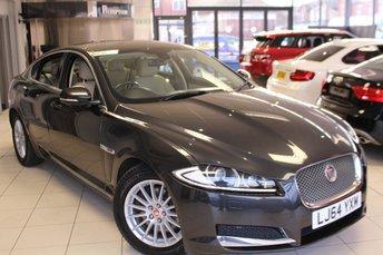 2014 JAGUAR XF 2.2 D SE BUSINESS 4d AUTO 163 BHP £12940.00