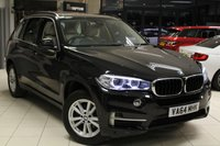USED 2015 64 BMW X5 2.0 25D SE 5d AUTO 215 BHP FULL DAKOTA WHITE LEATHER SEATS + PRO SAT NAV + BLUETOOTH + DAB RADIO + HEATED FRONT SEATS + 19 INCH ALLOYS + XENON HEADLIGHTS