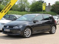 USED 2014 64 VOLKSWAGEN GOLF 2.0 GT TDI BLUEMOTION TECHNOLOGY DSG 5d AUTO 148 BHP AUTOMATIC, SAT NAV + REVERSING CAMERA