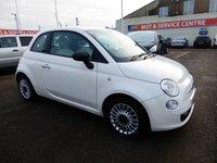 2011 FIAT 500 0.9 POP 3d 85 BHP £4995.00