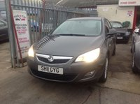 USED 2011 11 VAUXHALL ASTRA 1.4 EXCITE 5d 98 BHP Stunning low mileage family hatchback.