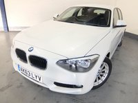 2013 BMW 1 SERIES 1.6 116D EFFICIENTDYNAMICS 5d 114 BHP £9980.00