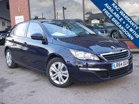 USED 2014 64 PEUGEOT 308 1.6 HDI ACTIVE 5d 92 BHP £0 ROAD TAX PER YEAR, LOW RUNNING COSTS, 78 MILES PER GALLON
