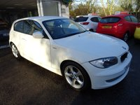 USED 2009 59 BMW 1 SERIES 2.0 116I SPORT 3d AUTOMATIC 121 BHP Low Mileage, Comprehensive Service History, MOT until August 2018, Two Previous Owners, Automatic