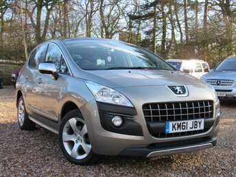 2012 PEUGEOT 3008 1.6 HDi FAP Exclusive 5dr £SOLD