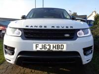 USED 2013 63 LAND ROVER RANGE ROVER SPORT 3.0 SDV6 HSE 5d AUTO 288 BHP **Stunning 1 Owner 22's FLSH Sold With Service @ Land Rover**