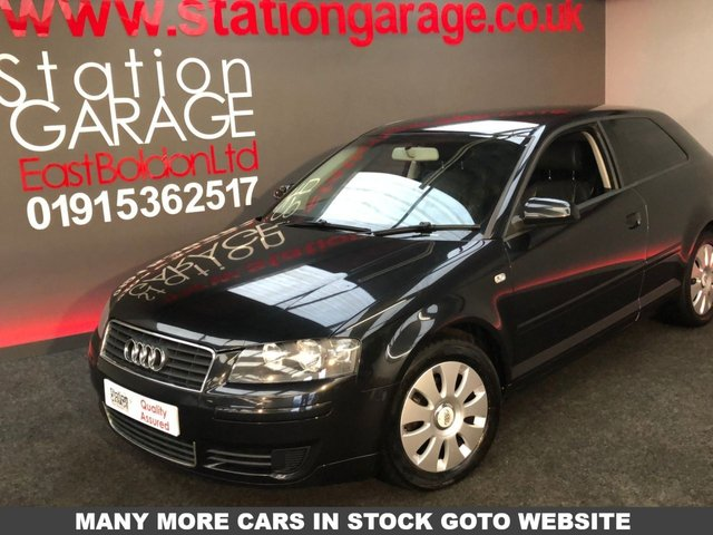 2004 04 AUDI A3 1.6 SPECIAL EDITION 16V 3d AUTO LEATHER