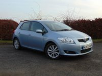 USED 2007 07 TOYOTA AURIS 1.6 T SPIRIT VVT-I MM 5d AUTO AUTOMATIC GEARBOX