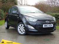 USED 2013 13 HYUNDAI I20 1.2 ACTIVE 3d * BUY NOW PAY NOTHING FOR 6 MONTHS *