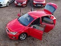 USED 2014 64 SEAT LEON 2.0 TDI FR TECHNOLOGY DSG 5d AUTO 184 BHP SAT NAV, BLUETOOTH, DAB, CRUISE CONTROL, FRONT AND REAR PARKING SENSORS, £30 ROAD TAX, 184 BHP!