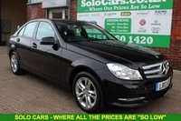 USED 2013 13 MERCEDES-BENZ C CLASS 2.1 C220 CDI BLUEEFFICIENCY EXECUTIVE SE 4d 168 BHP +SAT NAV +LEATHER +Bluetooth.