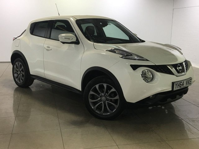 View our 2014 64 NISSAN JUKE 1.5 TEKNA DCI 5d 110 BHP