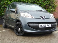 USED 2009 PEUGEOT 107 1.0 URBAN MOVE 3d **AIR CONDITIONING / BLACK ALLOY WHEELS**