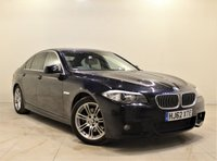 USED 2012 62 BMW 5 SERIES 2.0 520D M SPORT 4d 181 BHP + 2 PREV OWNERS + AIR CON + AUX + BLUETOOTH + FULL SERVICE FISTORY