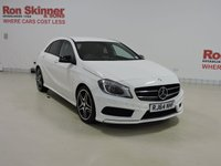USED 2015 64 MERCEDES-BENZ A-CLASS 2.1 A200 CDI AMG SPORT 5d AUTO 136 BHP with heated front seats + night package