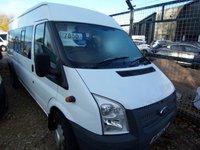2012 FORD TRANSIT MINIBUS Transit 17 Seat Minibus 430 134PS £7650.00