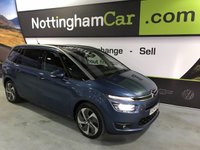 2014 CITROEN C4 GRAND PICASSO BLUEHDI EXCLUSIVE PLUS £8695.00
