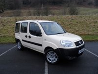 USED 2008 58 FIAT DOBLO 1.9 JTD ACTIVE 5d 104 BHP ONE OWNER, FULL SERVICE HISTORY, CAM BELT CHANGED