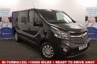 USED 2016 16 VAUXHALL VIVARO 1.6 2700 BI-TURBO (120)BHP SPORTIVE Only19569 miles READY TO DRIVE AWAY .. *Over The Phone Low Rate Finance Available*   *UK Delivery Can Also Be Arranged*           ___       Call us on 01709 866668 or Send us a Text on 07462 824433