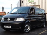 USED 2006 06 VOLKSWAGEN TRANSPORTER SHUTTLE 2.5 T30 SHUTTLE SE LWB TDI 1d AUTO 130 BHP NO VAT ON THIS VEHICLE NO VAT ON THIS VEHICLE.SERVICED ON PURCHASE.