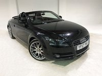 USED 2007 57 AUDI TT 2.0 TFSI 2d 200 BHP TWO OWNERS FROM NEW+ 35.000 MILES FROM NEW WITH FULL SERVICE HISTORY AND NATIONWIDE WARRANTY